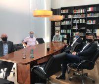 Rede DEL é apresentada para cônsul alemão em Joinville