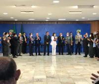 Facisc participa de encontro com Bolsonaro e Guedes