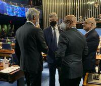 Facisc reforça pautas do empresariado com parlamentares em Brasília