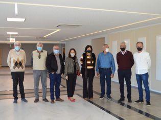 Ex-presidentes da AEMFLO visitam a nova sede