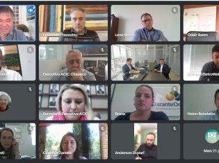 ACIC Chapecó promove reunião da diretoria aberta aos associados