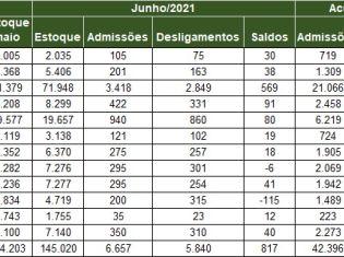 Região Carbonífera fecha o primeiro semestre com quase 7 mil empregos