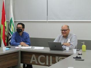 CEO da empresa Chlorum Solutions participa de reunião da ACIL