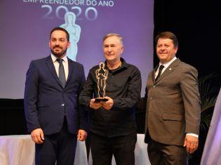 Jair Visoli e Ivana Perazolli são eleitos os empreendedores do
