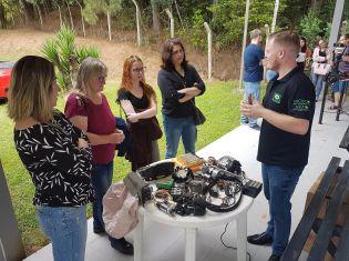 Núcleo da ACISBS realiza mais um workshop de mecânica básica